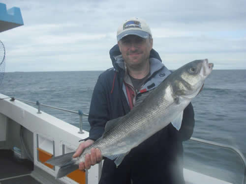 Out The Blue - Boatfishing Charters Guernsey